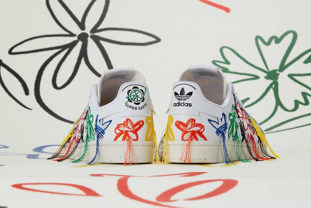 Sean Wotherspoon vegan adidas Super Earth sneaker - Photo: Adidas
