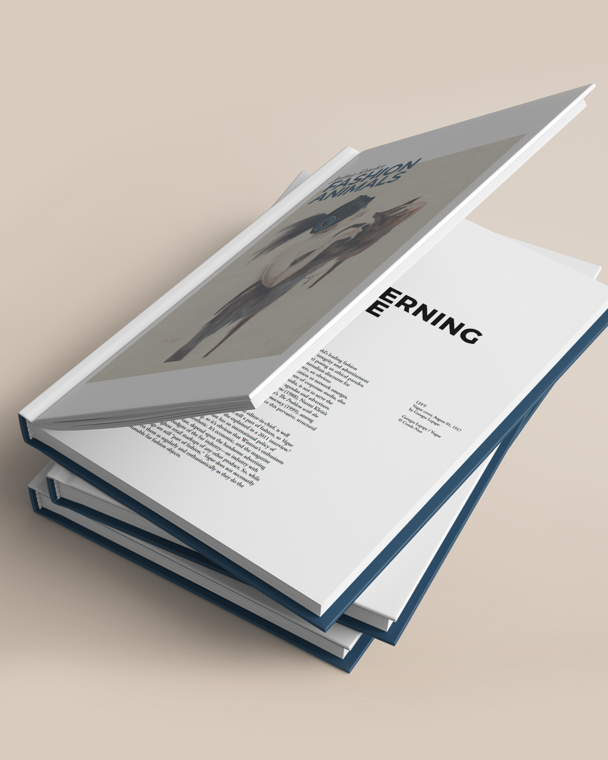 Fashion Animals Book by Joshua Katcher – designed by Very Good Looking Berlin - Antagonist