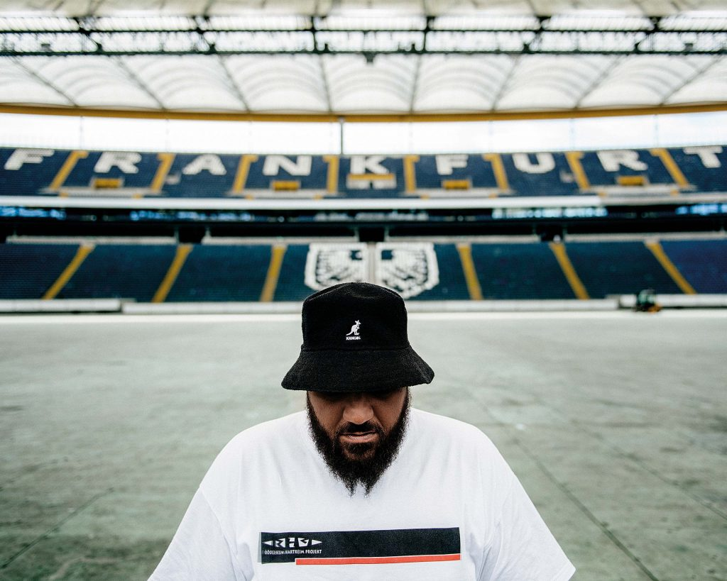 Moses Pelham - vegan rapper from Frankfurt, Germany - for Antagonist