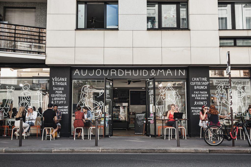 A Paris Minute: Aujourd-Hui Demain - Vegan Travel - Antagonist