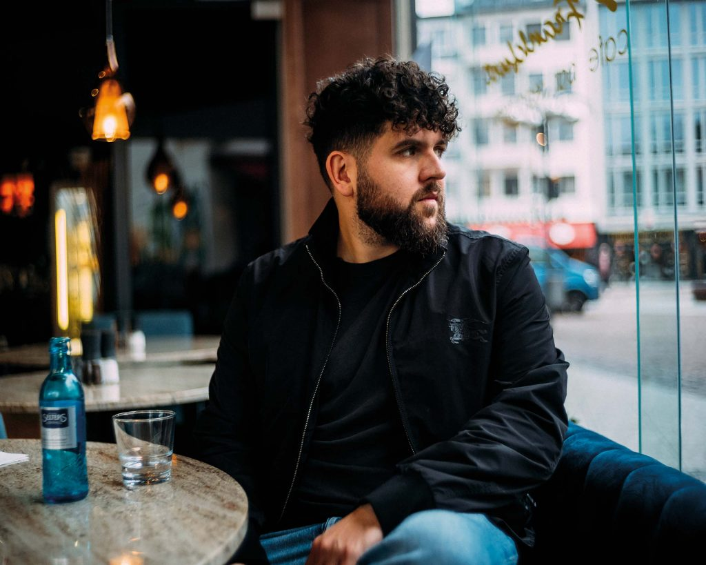Vega - vegan rapper from Frankfurt, Germany - Photo: André Josselin for Antagonist