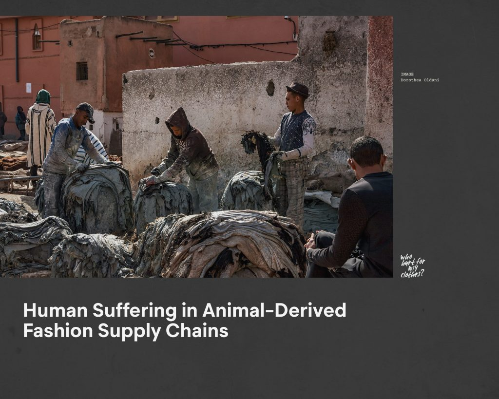 Fashion Revolution Week – Who made my clothes? The impact of animal supply chains in fashion on shearers and tannery workers – Antagonist