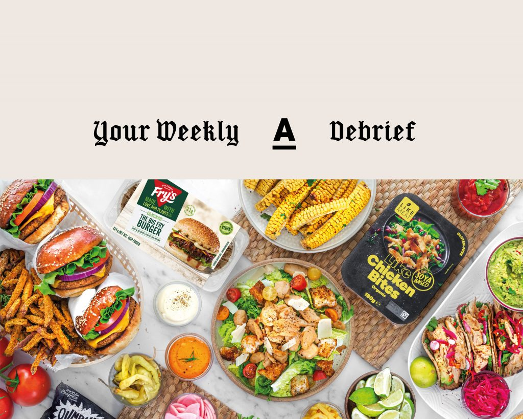 Antagonist 'Your Weekly Debrief' – a curated newsletter bringing you the very best in plant-based news.