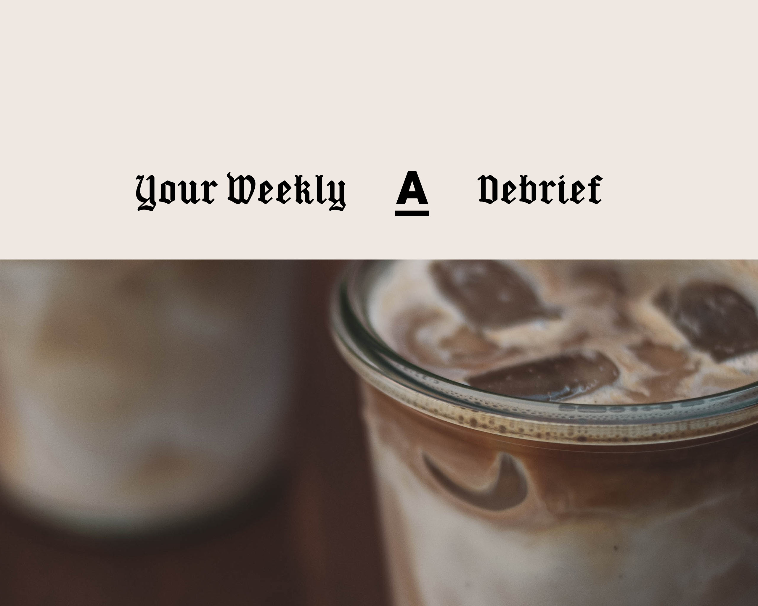 Antagonist 'Your Weekly Debrief' – a curated newsletter bringing you the very best in plant-based news