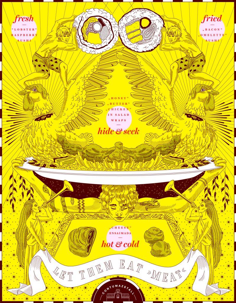 Ari Liloan Portfolio - Vegan Illustrator - Antagonist - Radical Kindness Media