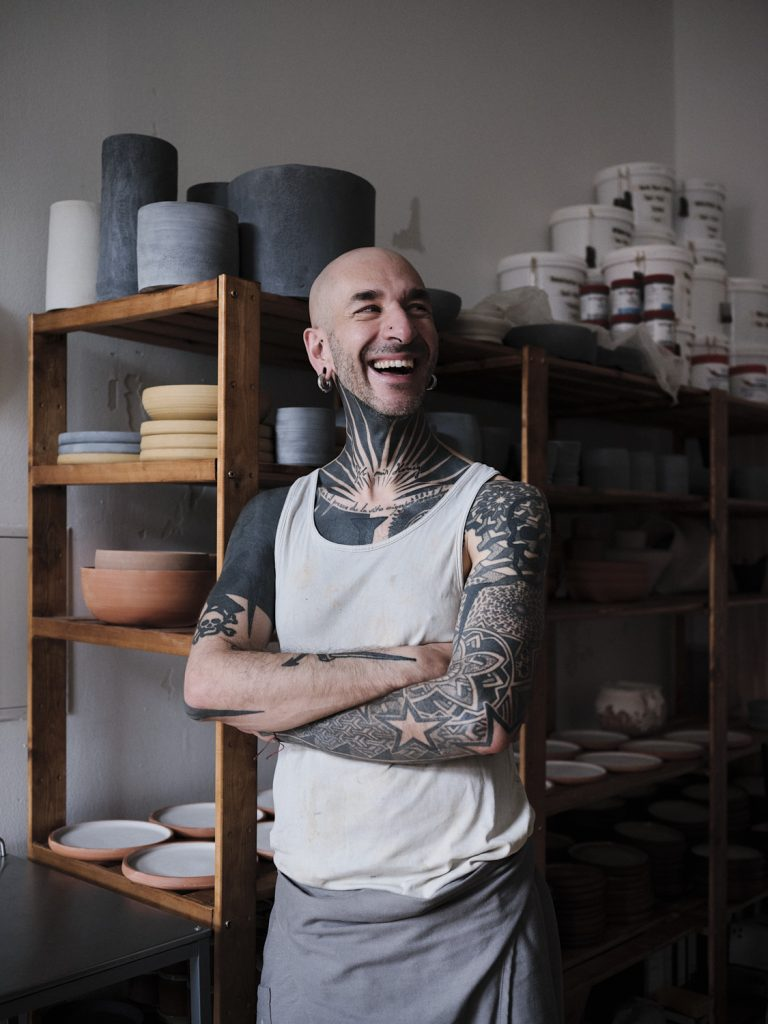 Ennio Nobili - vegan potter from Berlin - Brix and Maas for Antagonist - Radical Kindness