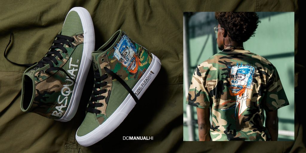 DC Shoes meets Basquiat – The Manual in Basquiat design is a fully vegan sneaker - Antagonist