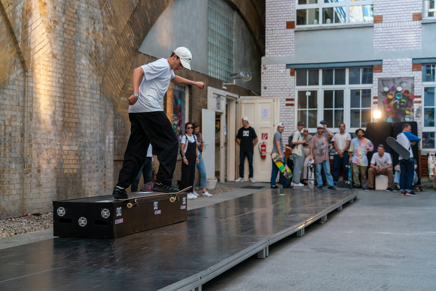 DC Shoes Event for the Basquiat Shoe Launch in Berlin - Photo David Luther