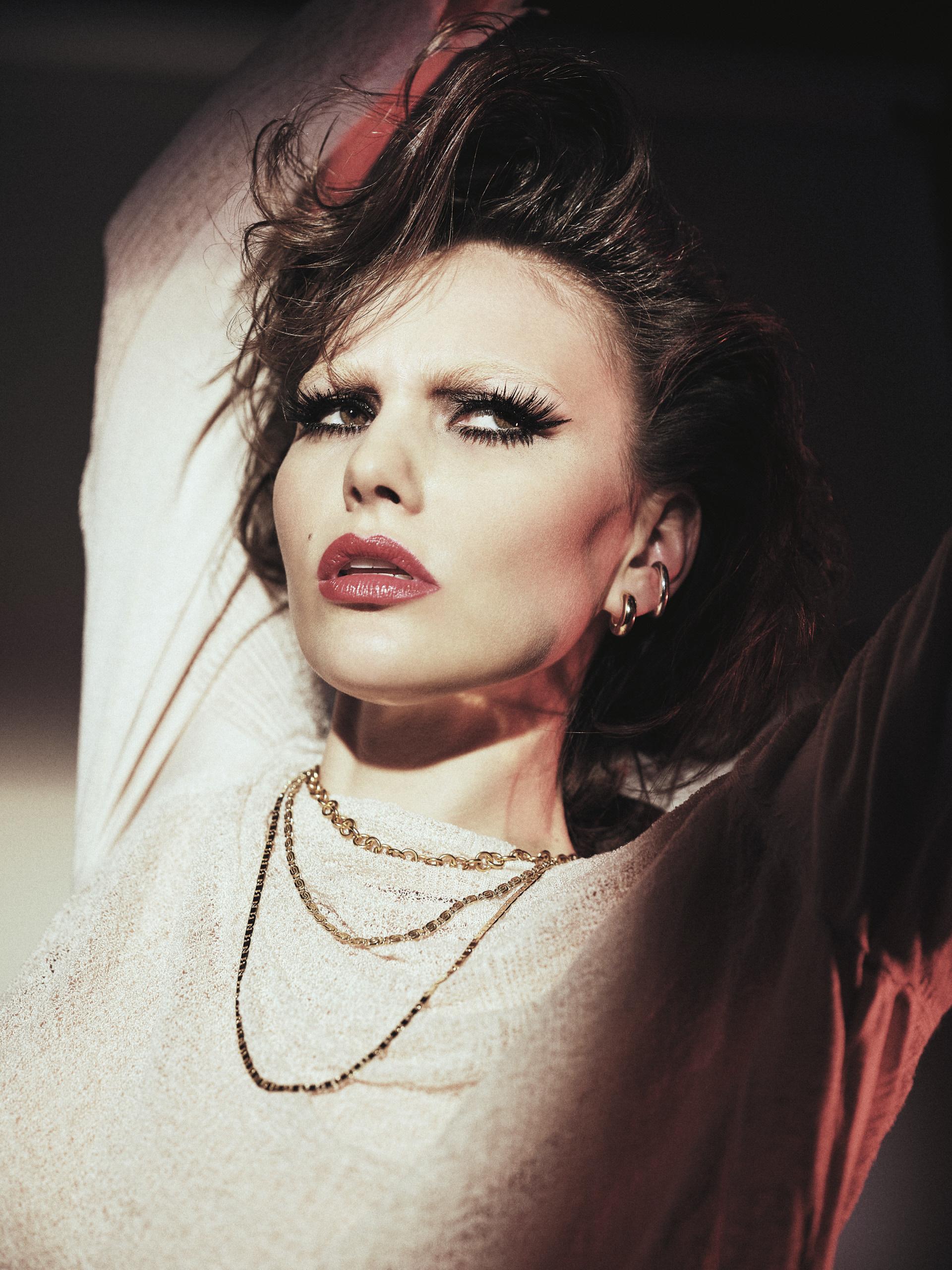 Fashion Editorial: Decades Of Decadence – ethical vegan fashion editorial by Brix & Maas for Antagonist