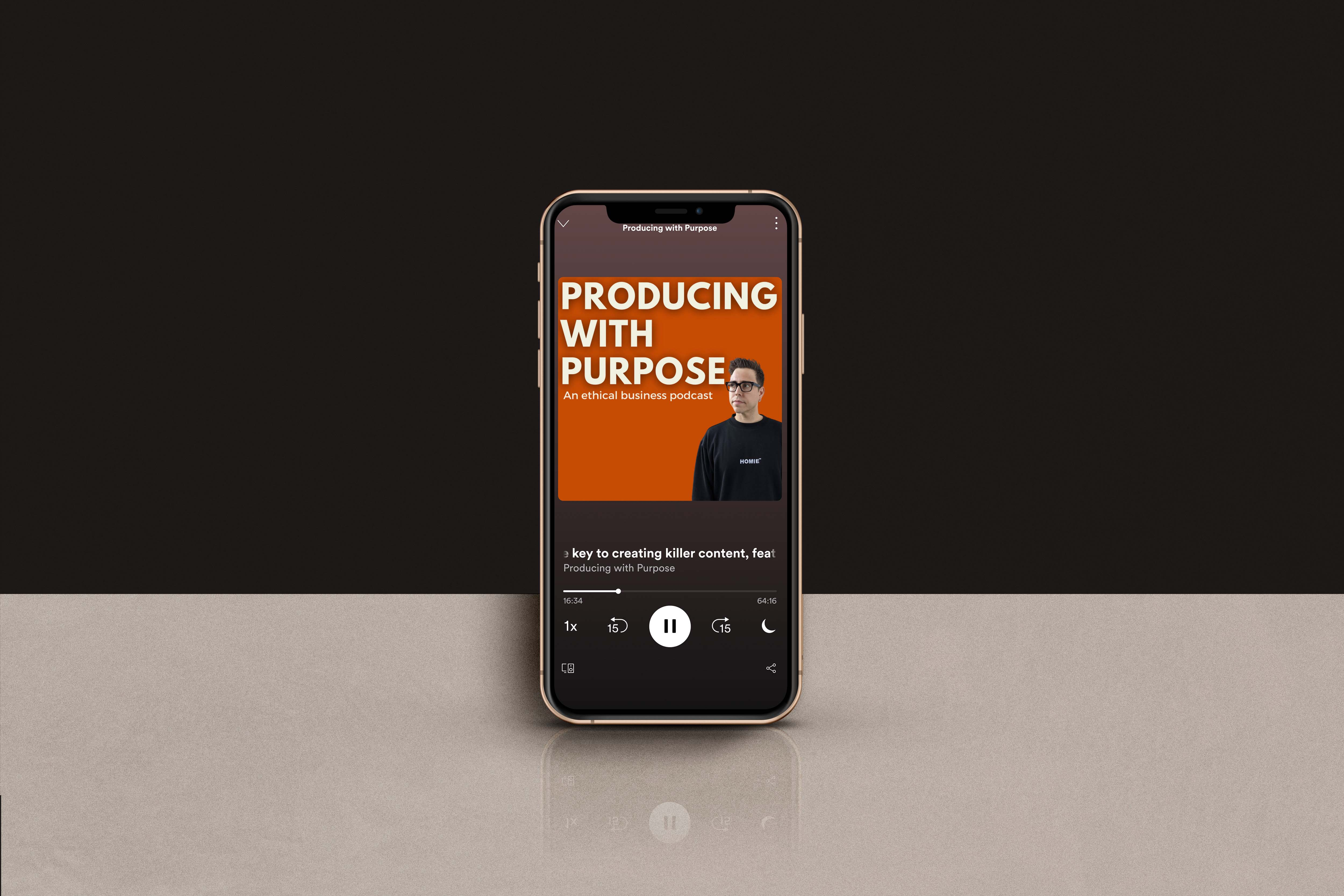 Producing with Purpose, the Ethical Business Podcast featuring Antagonist Creative Director Eric Mirbach